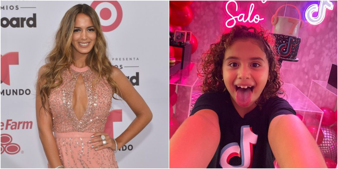 Shannon de Lima y Salomé Rodríguez posando para las redes sociales. Foto AFP e Instagram @salomerodriguezospi