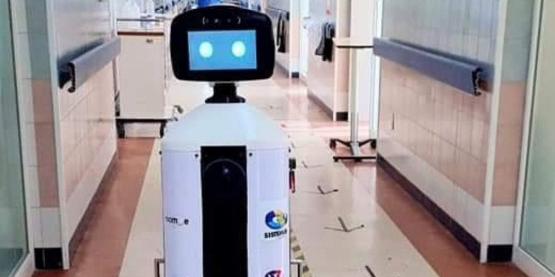 El robot mexicano LaLuchy Robotina