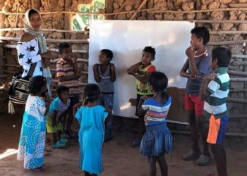 Niños desnutridos en la etnia wayuu