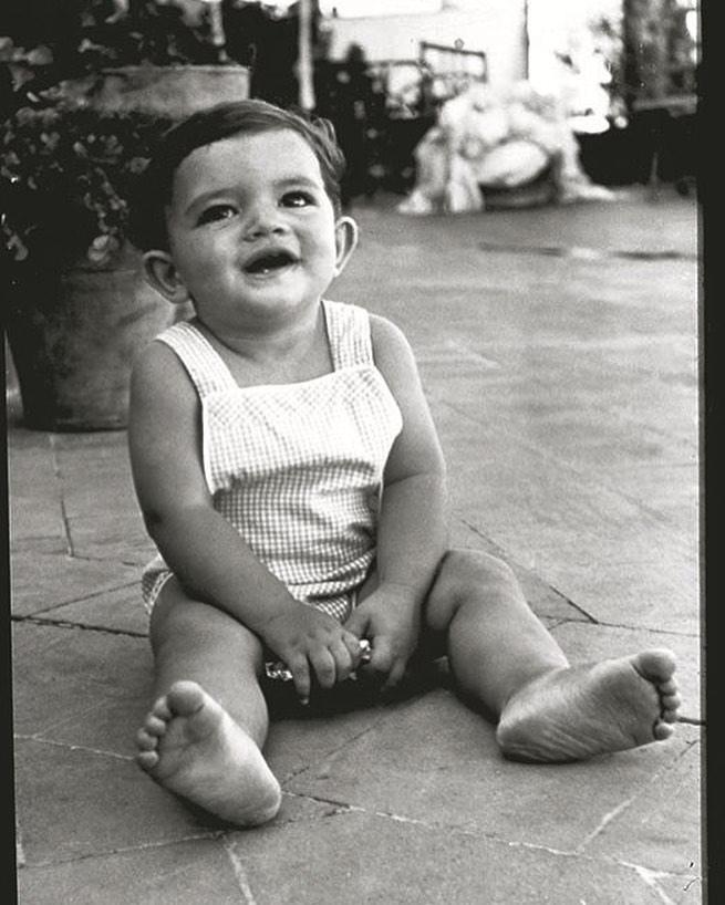 Antonio Banderas bebé