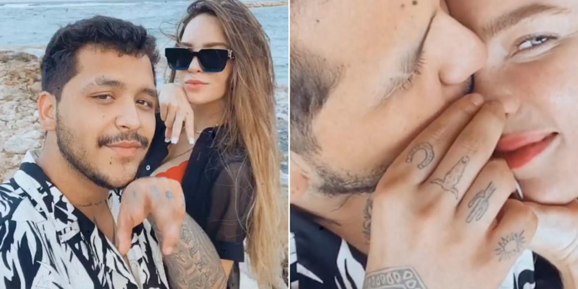 Belinda y Christian Nodal presumen sus románticas vacaciones