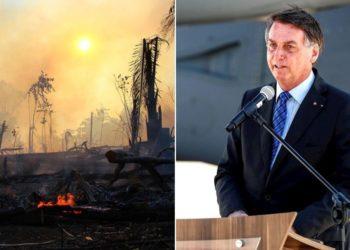 Bolsonaro incendios amazonia