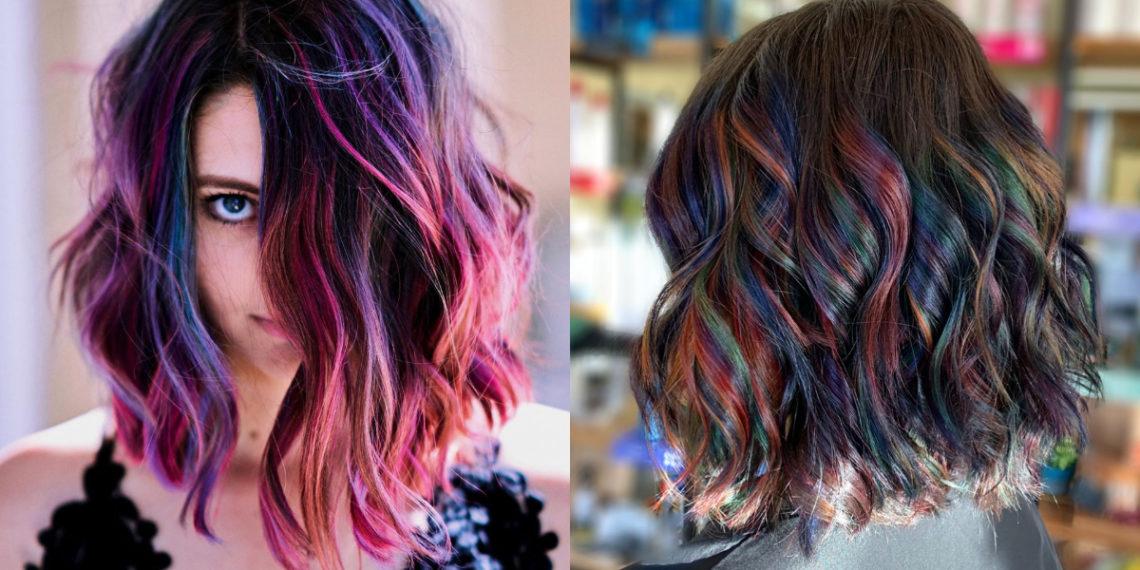 cabello arcoíris