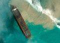 Derrame petróleo isla mauricio