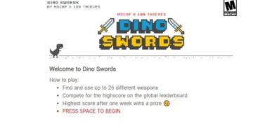 Dinosaurio google