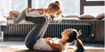 ejercicios con niños