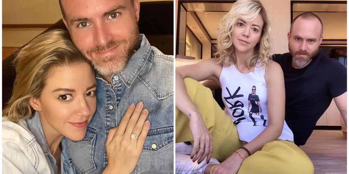 Fernanda Castillo y Erik Hayser. Foto: Instagram/ fernandacga