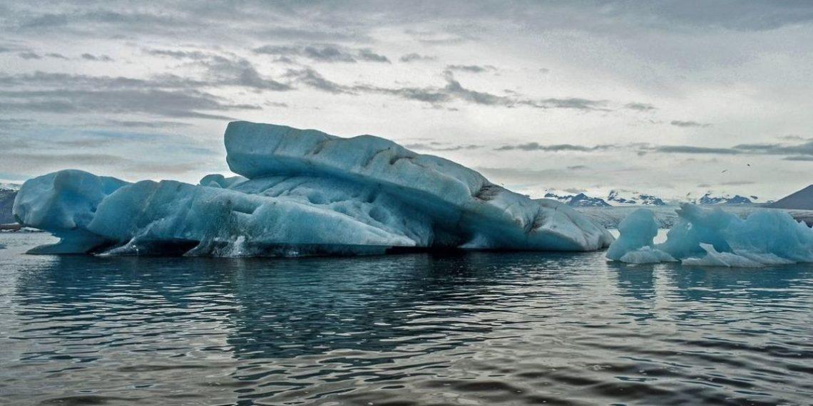 Hielo calentamiento global