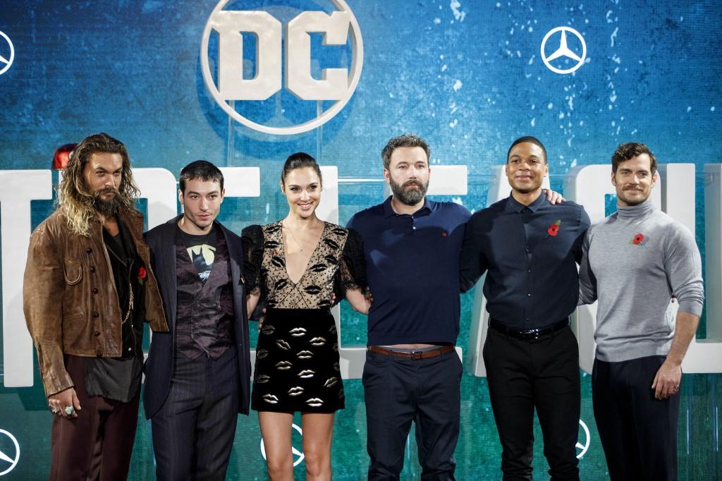 Actores de La Liga de la justicia