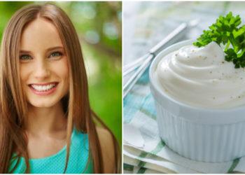 mayonesa para el cabello
