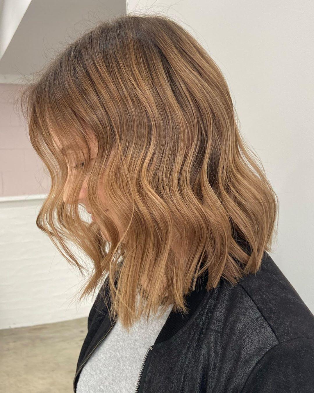 ondas en el cabello