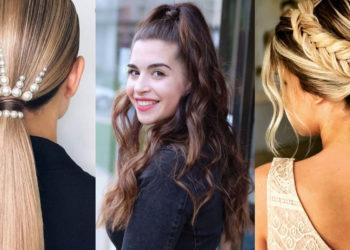 Peinados sencillos para domar el cabello rebelde. Foto: Instagram: @castle_fashion_rose /  @rosavegas_salon