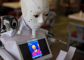 Robot pruebas coronavirus
