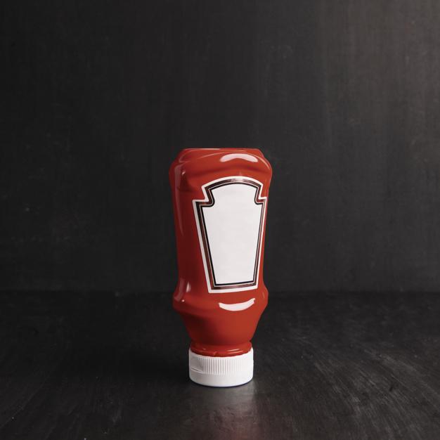 manchas de salsa de tomate