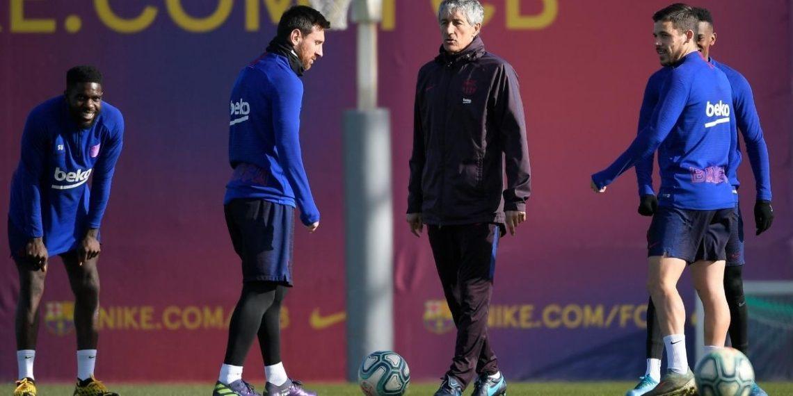 Vestuario del Barcelona: Arturo Vidal habla sobre Messi y Setién