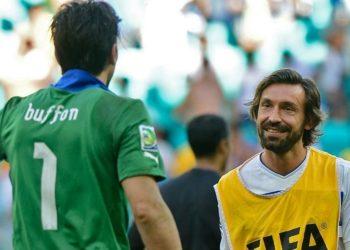 Buffon Pirlo -- Gianluigi Buffon Andrea Pirlo