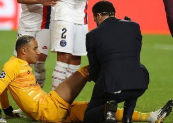 Lesión de Keylor Navas: el arquero es una duda para el PSG