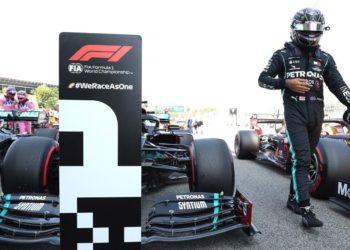 Pole de Hamilton en España: sigue la dictadura de Mercedes
