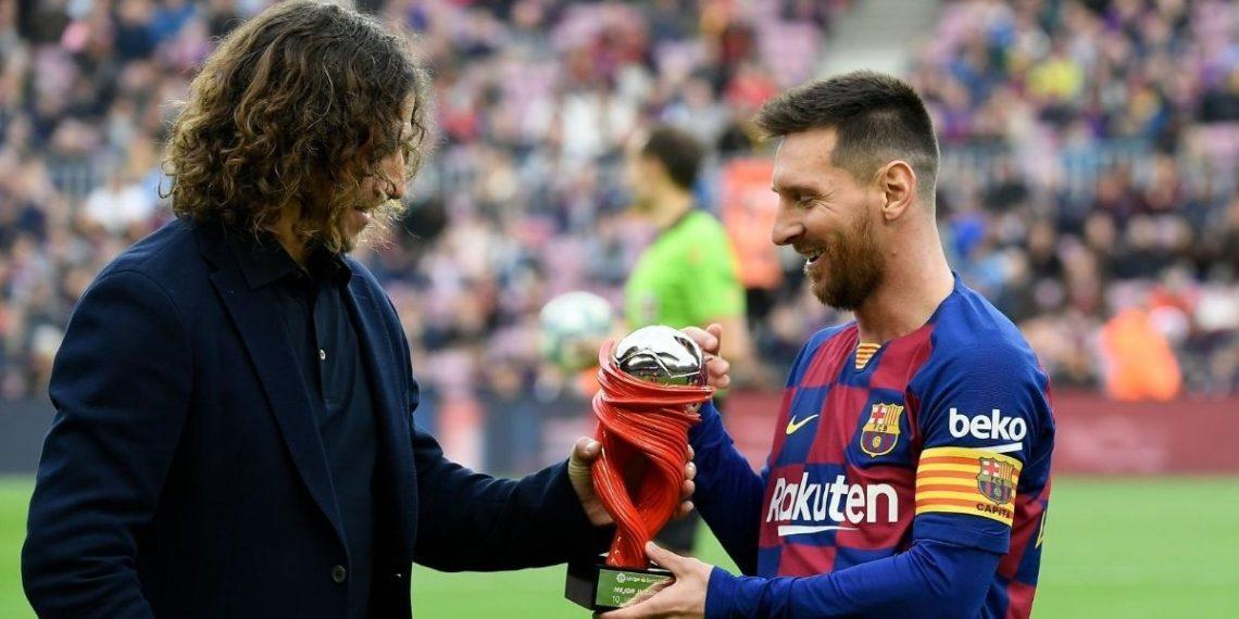 Puyol a Messi: «Respeto y admiración, Leo. Todo mi apoyo, amigo»