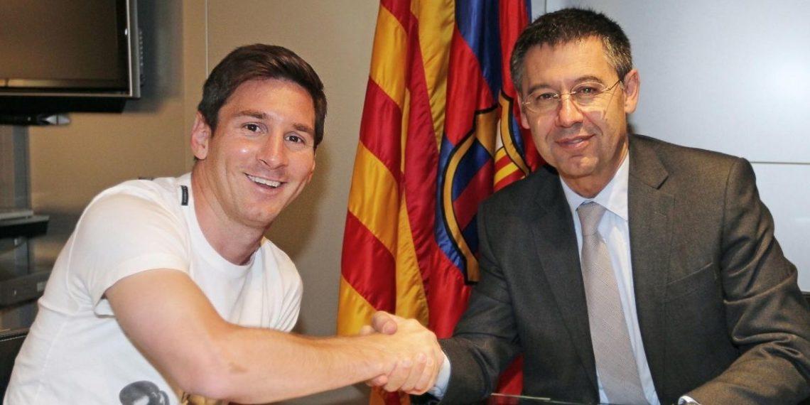 Bartomeu se va del Barcelona solo si Lionel Messi decide quedarse