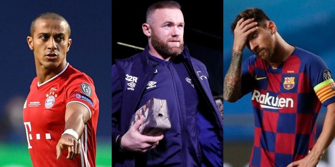 Rooney habla de las posibles llegadas de Thiago y Messi a la Premier