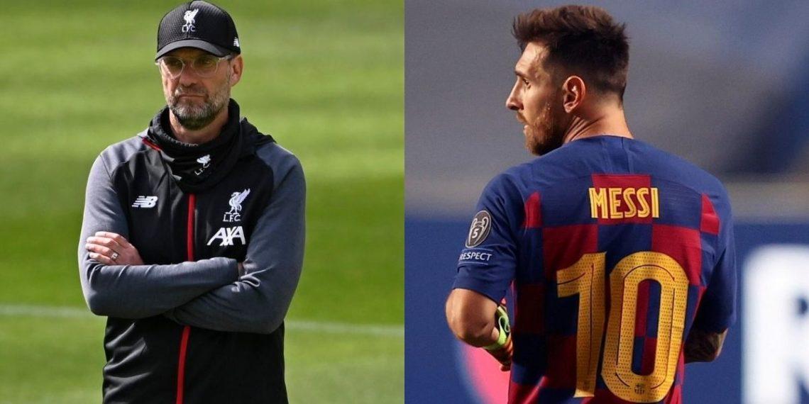 La postura de Jürgen Klopp sobre el futuro incierto de Lionel Messi