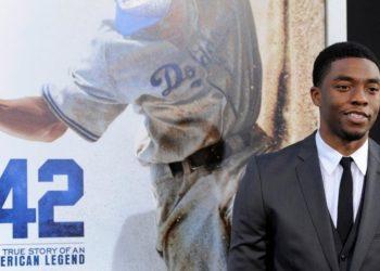 Chadwick Boseman, el actor que le devolvió la vida a Jackie Robinson