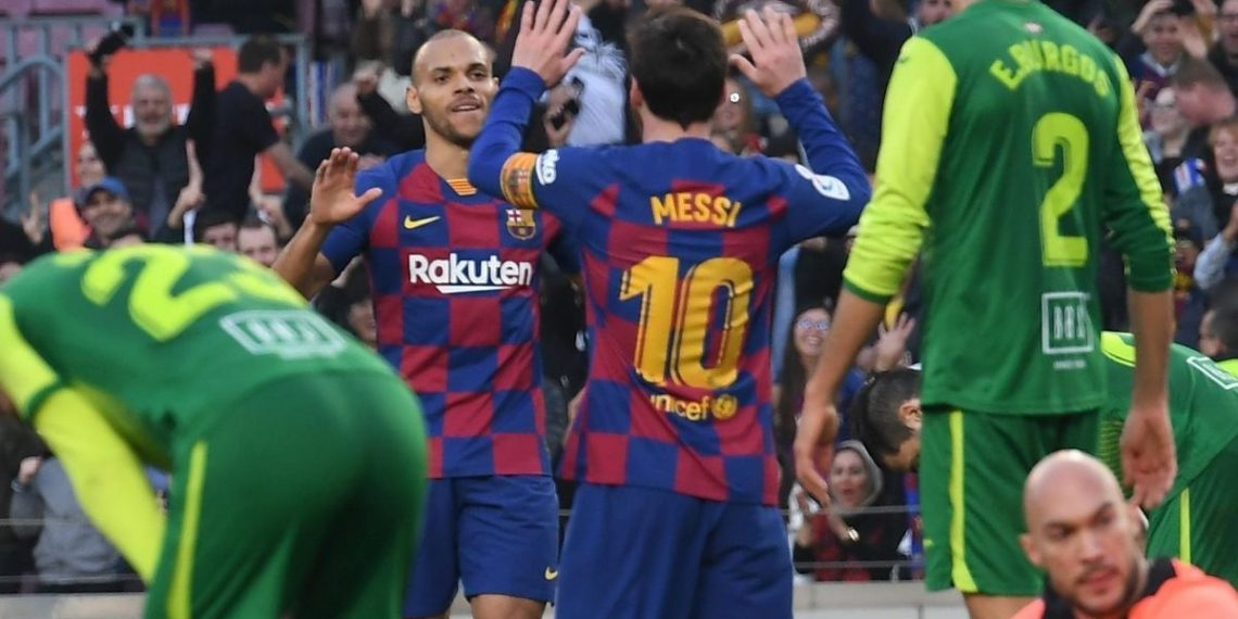 Messi no se ha ido aún y ya Martin Braithwaite pidió el 10, afirma reporte