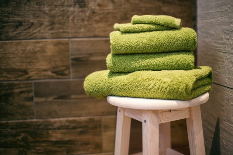 Humedad en las toallas