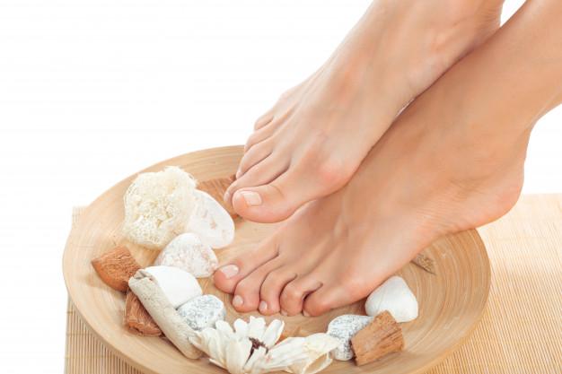 suavizar los pies
