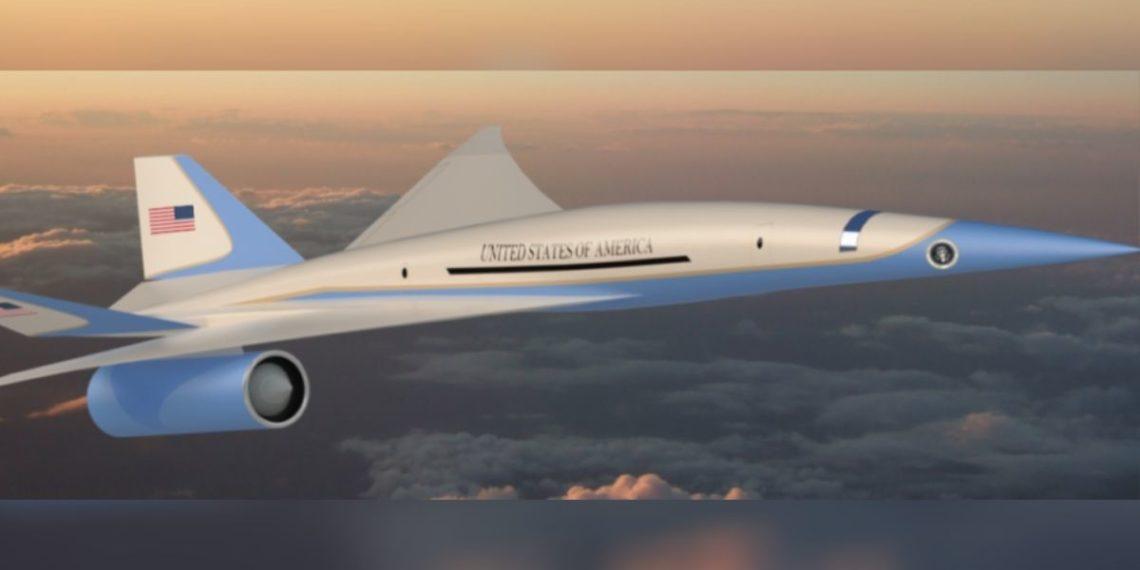avión presidencial supersónico