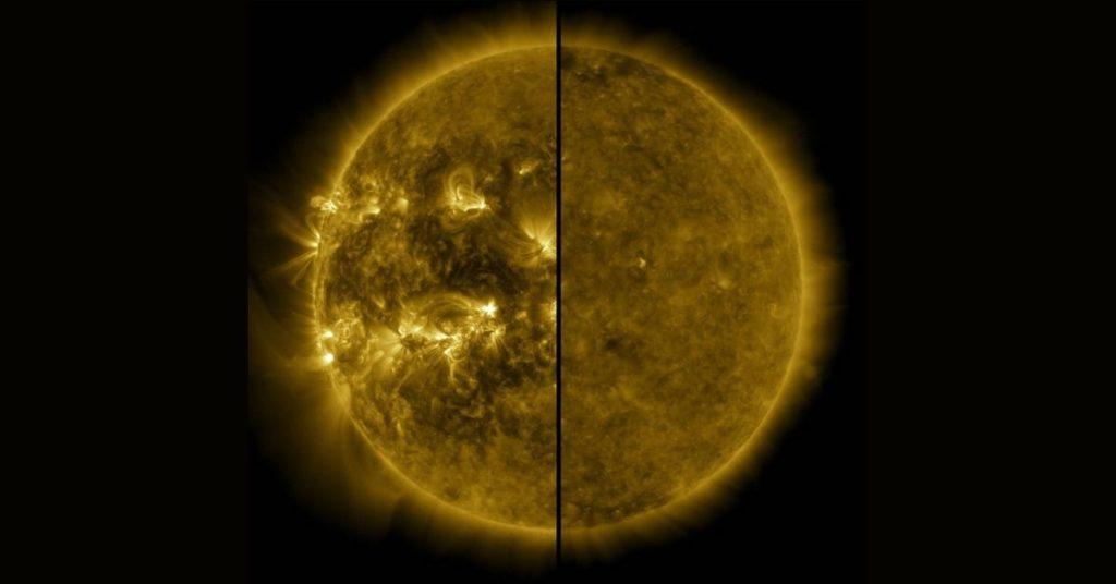 Ciclo del comportamiento del Sol