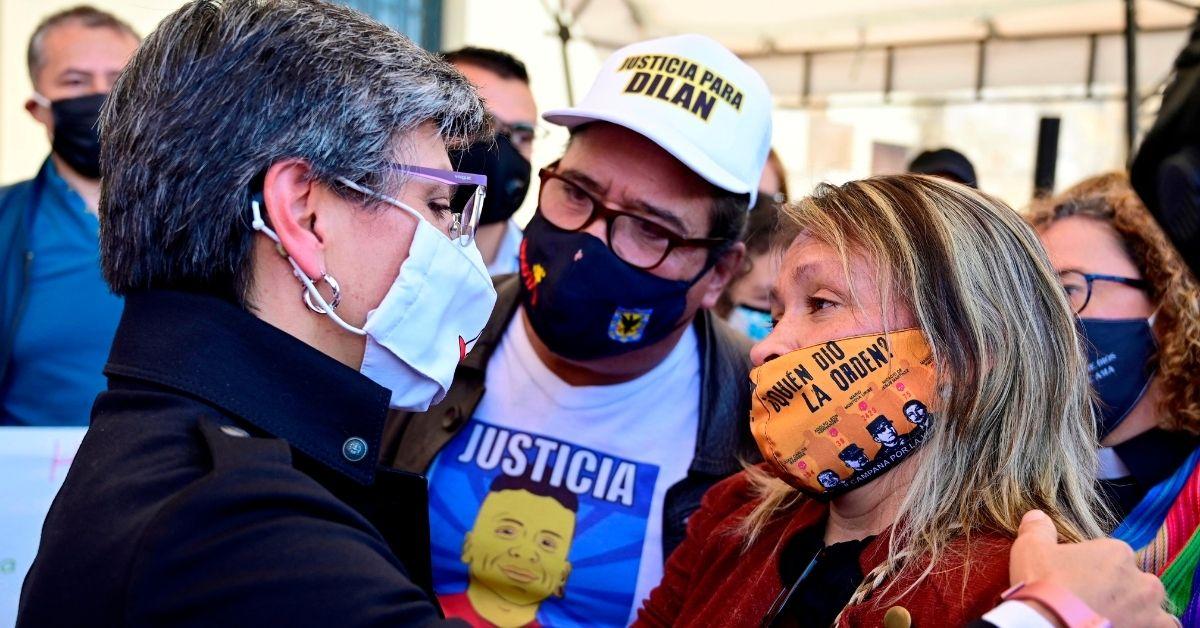 Claudia López pidió perdón