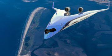 Realizan exitosa prueba de vuelo con un prototipo del avión futurista Flying-V. Foto: KLM / Delft