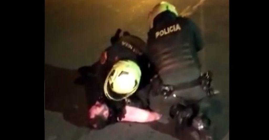 policía de Colombia Javier Ordoñez