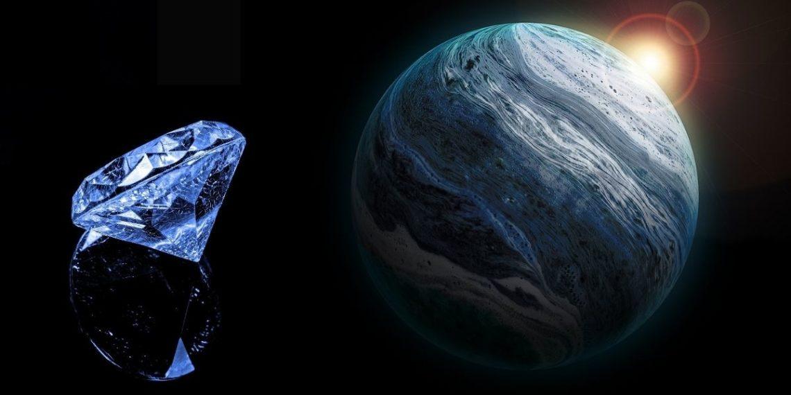 diamantes en planetas
