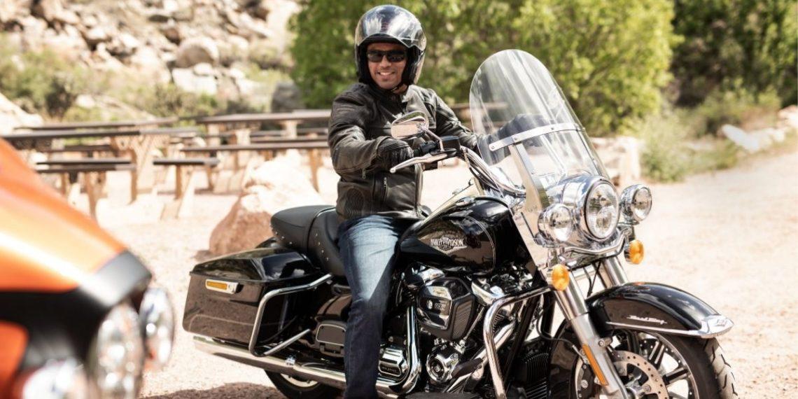 rally de motocicletas en Estados Unidos