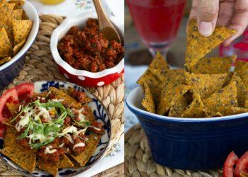 Receta de chips de nachos (doritos) caseros
