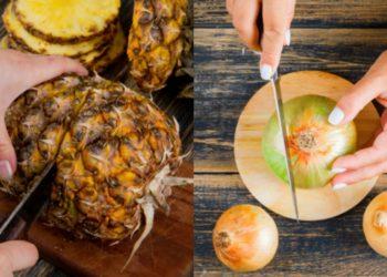 Cortar y pelar alimentos o frutas