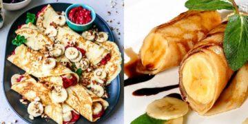 Receta de crepes sin gluten saludables