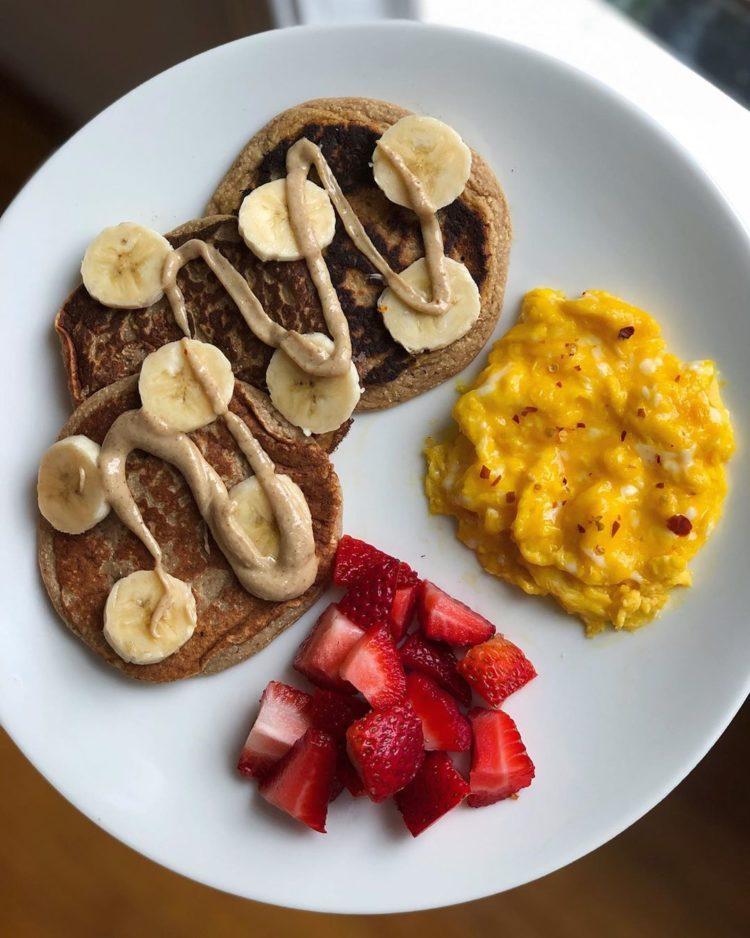 Panqueques de plátano (banana)