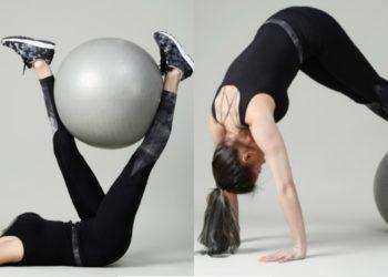 Ejercicios de fuerza con pelota para lumbar, abdomen y torso
