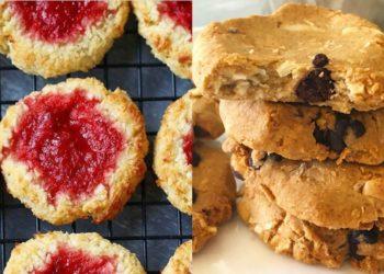 Deliciosas y sanas galletas sin mantequilla