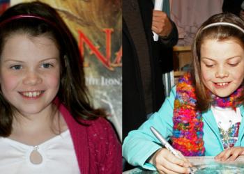 Así luce en la actualidad la pequeña 'Lucy' de 'Las Crónicas de Narnia'