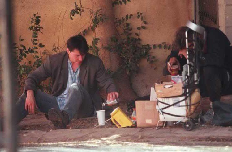 El actor ayuda a los más necesitados