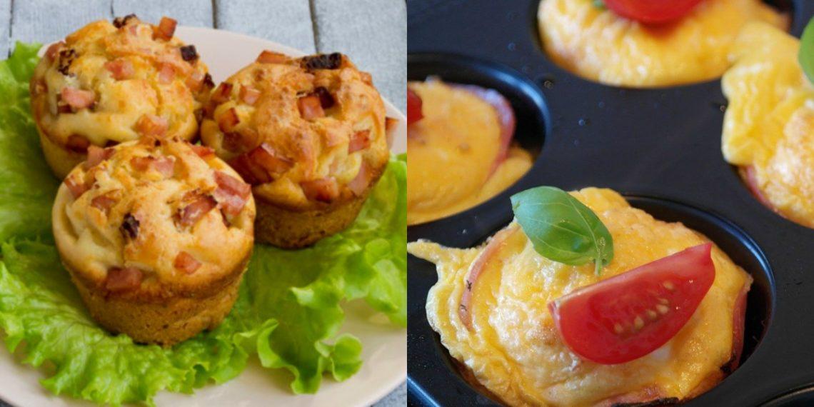 Muffins saludables de verduras