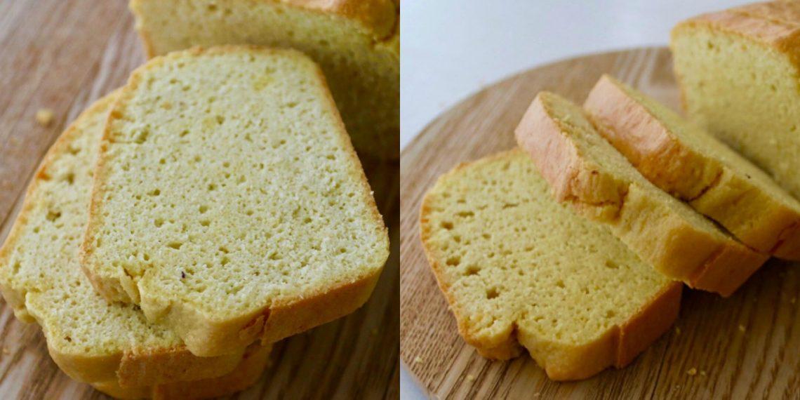 Receta de pan de almendras keto con harina de almendras