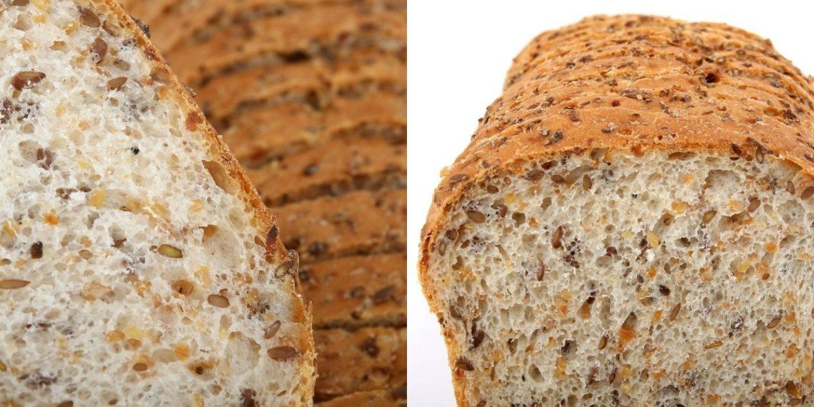 Pan de avena saludable sin harina