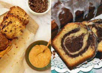 Receta para hacer pan de molde saludable relleno con chocolate