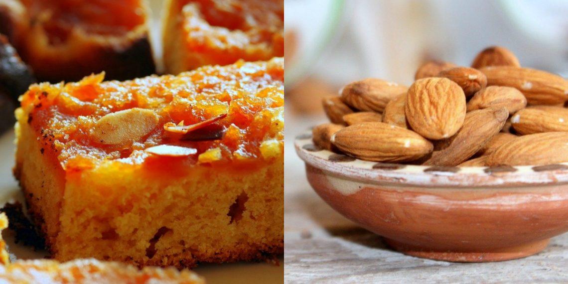 Bizcocho vegano: pastel de almendras